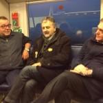 FAENTINA: Rossi in viaggio con i pendolari e annuncia l'arrivo di 4 nuovi Minuetto