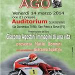 SAN PIERO: Il 14 marzo Giacomo Agostini si racconta