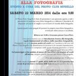FOTOGRAFIA: Un evento a Casa d'Erci a cura del Photo Club Mugello