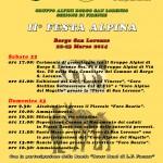 BORGO SAN LORENZO: Fine settimana dedicato agli alpini