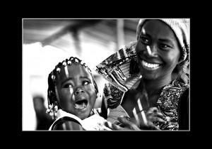Africa in bianco e nero