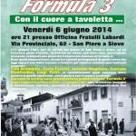 A San Piero una serata in compagnia degli assi della Formula 3 anni '60