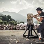 LUCCA: Domenica spettacolo con le finali del campionato italiano STIHL TIMBERSPORTS