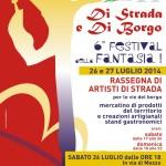 A Palazzuolo sul Senio un week-end tra arte e spettacoli di strada con il Festival della Fantasia