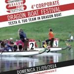 """FIRENZE: domenica 21 settembre torna in Arno il """"Corporate Dragon Boat Festival"""""""