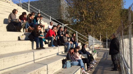 studenti architettura al velodromo