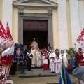 Bandierai Scafrperia a Viù-Festa San Martino