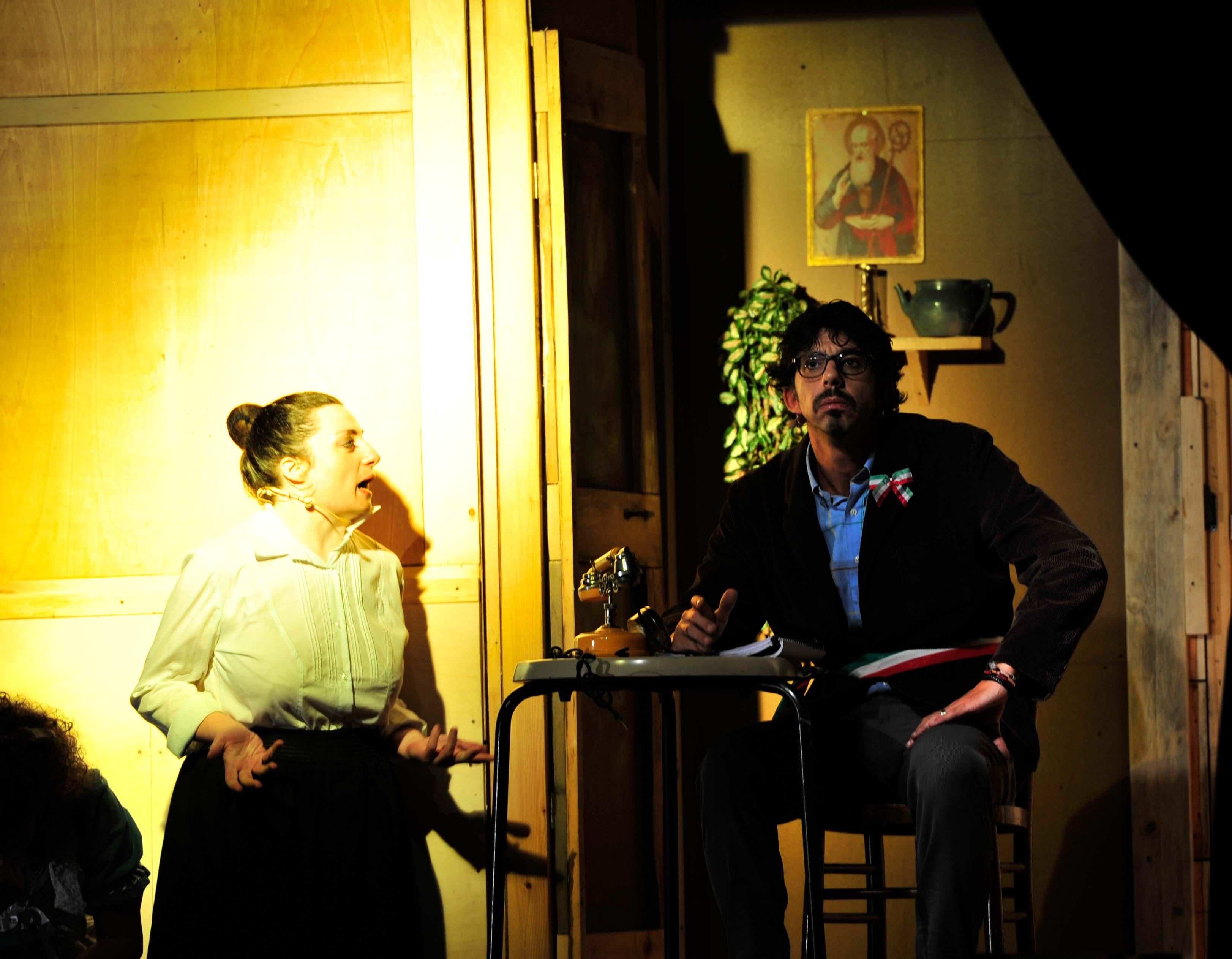Rufina il piccolo porta in scena aggiungi un posto a - Aggiungi un posto a tavola brancaccio biglietti ...