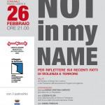 BORGO SAN LORENZO: Tre appuntamenti per il dialogo interreligioso e contro i fondamentalismi
