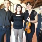 Trio della Camerata de' Bardi con l'Assessore Cristina Becchi