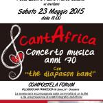 Concerto per l'Africa al Compostela Forum