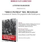 Dio e patria nel Mugello – Il nuovo libro di Antonio Margheri