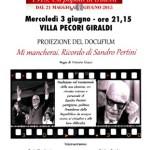 Borgo San Lorenzo – Proiezione per ricordare Sandro Pertini