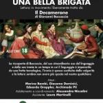 Circolo ARCI 12 marzo Le Caselle – Una bella brigata: letture in movimento da Il Decamerone