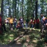 Protezione civile – Importante corso di formazione per i volontari su l'utilizzo della motosega