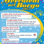 """da domani i """"Mercoledi nel Borgo"""" – Musica e offerte speciali"""