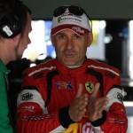 Max Mugelli in gara sul circuito di casa.