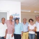 Importanti esponenti della Regione Toscana in visita ad una eccellenza mugellana