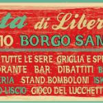 Al via la 25a edizione della Festa di Liberazione a Borgo San Lorenzo