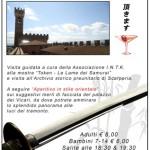 Scarperia – Suggestivo aperitivo sui merli del Palazzo dei Vicari
