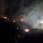 Domato l'incendio divampato nella notte nel comune di Marradi