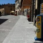 Marradi – Conclusa nel centro storico la prima parte dei lavori