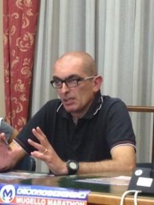 Luca Panichi Direttore tecnico della Maratona del Mugello