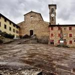 San Godenzo – Inaugurazione di Transumanza opera di Leonardio Bossio