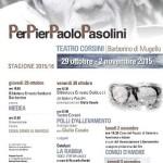 Barberino di Mugello – Da stasera una serie di appuntamenti per ricordare P. Paolo Pasolini