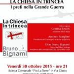 Borgo San Lorenzo – La Chiesa in trincea – Venerdi la presentazione del libro