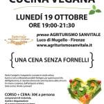Borgo San Lorenzo – Una cena senza fornelli – Corso di cucina Veg