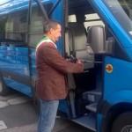 San Godenzo – Inaugurato un nuovo pulmino per il trasporto pubblico