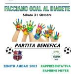 Firenze – Ospedale Meyer – Facciamo un goal al diabete