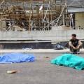 SETTIMO MILANESE: ENNESIMA MORTE BIANCA, CROLLA IMPALCATURA 2 MORTI - MILANO 13/06/2008 - 2 MORTI SUL LAVORO A SETTIMO MILANESE, A CAUSA DEL CROLLO DI UN'IMPALCATURA - NELLA FOTO IL CANTIERE - FOTO SCIAKY/INFOPHOTO