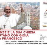 Papa Francesco a Firenze – Un'opera di Antonio Berti sull'altare della S. Messa allo stadio Franchi