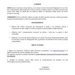 Borgo San Lorenzo – Allerta meteo – Comunicazione del Sindaco alla Cittadinanza