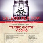 """Vicchio – Al Teatro Giotto arriva la commedia  """"Veleno per topi"""""""