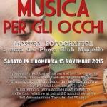 """Borgo San Lorenzo –  Photo Club Mugello  – """"Musica per gli occhi"""" scatti tra musica e fotografia"""