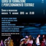 Barberino di Mugello – Teatro Corsini – Percorso di formazione nel campo della recitazione