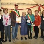 Pontassieve – San Godenzo – I festeggiamenti per i 100 anni della signora Bruna Bendoni