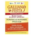 """Barberino di Mugello – A Galliano la """"Fiera novembrina"""""""