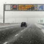 Viabilità  – Possibili nevicate in A1