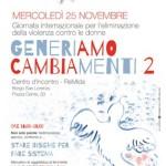 """Borgo San Lorenzo celebra la """"Giornata per l'eliminazione della violenza sulle donne"""""""