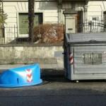 Borgo San Lorenzo  – Putroppo non si fermano gli atti vandalici nei confronti delle campane della raccolta differenziata