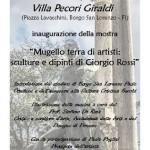 Borgo San Lorenzo – Interessante mostra di pitture e sculture di Giorgio Rossi