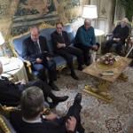 Vicchio – Una delegazione vicchiese ricevuta dal Presidente della Repubblica