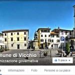 Comune di Vicchio –  E online la pagina Facebook