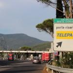 Autostrada A1 – Sono previste chiusure del casello di Calenzano