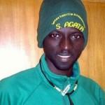Un giovane dal Gambia tesserato dalla squadra amatori UISP del S. Agata