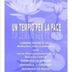 Un tempio per la Pace – Un luogo e un momento per meditare, ascoltarsi, condividere letture di pace